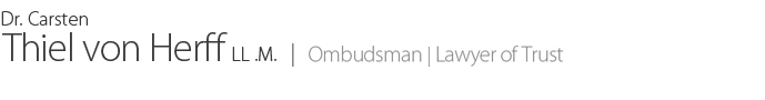 Ombudsman | Lawyer Of Trust